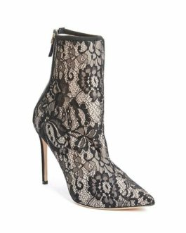 GUESS by Marciano Farrah Lace Ankle Bootie